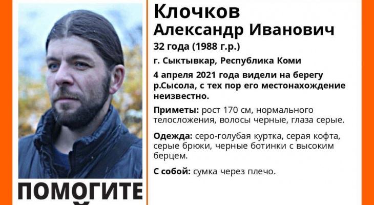 В Сыктывкаре ищут 32-летнего мужчину с серыми глазами