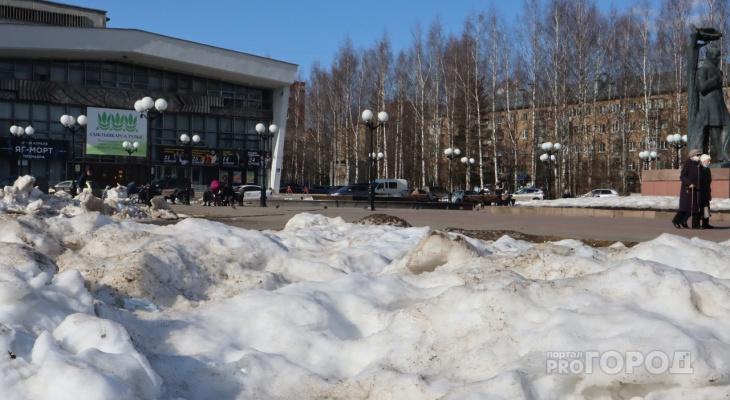 Погода в Сыктывкаре на 8 апреля: мощный ветер и небольшой дождь