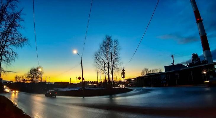Фото дня в Сыктывкаре: тихие осенние вечера
