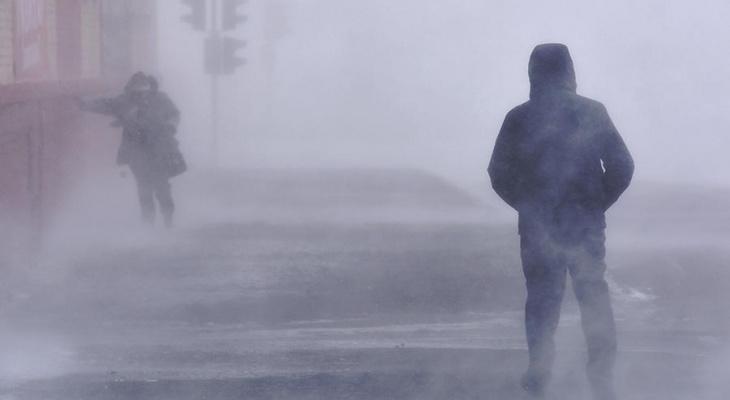 В Коми третий раз подряд объявляют штормовое предупреждение