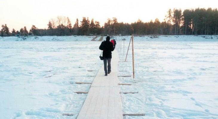 За сутки в Коми закрыли еще 4 ледовые переправы