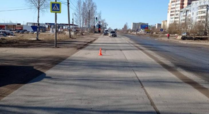 В Сыктывкаре на пешеходном переходе сбили 14-летнюю девочку
