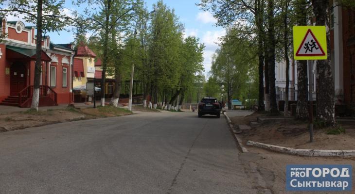 Пешеходы против водителей: кто лишний на дорогах в историческом центре Сыктывкара