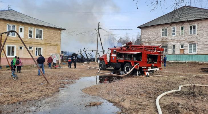 В Сыктывкаре нашли причастного к разрушительному пожару в Краснозатонском