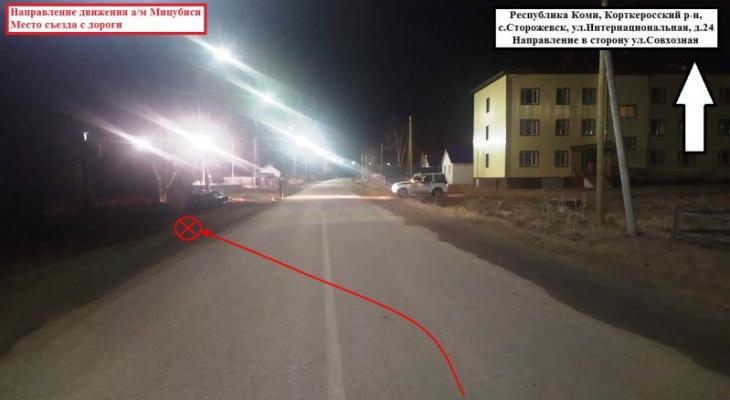 Житель Коми попал в ДТП и сбежал, оставив пострадавшего пассажира