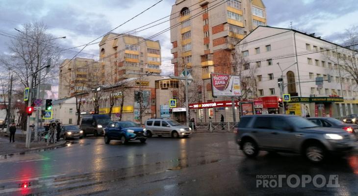 Погода в Сыктывкаре на 22 апреля: дождь и ветер