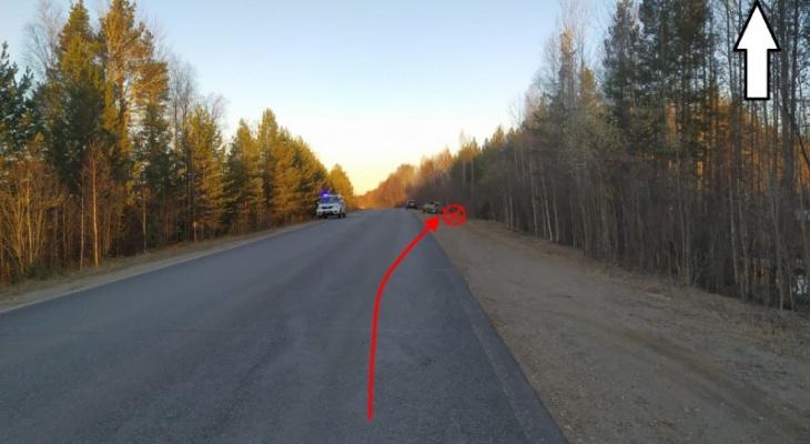 В Коми водитель без прав влетел в дерево