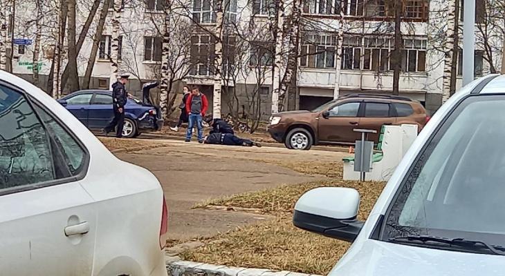 В Сыктывкаре напротив «Югора» сбили человека