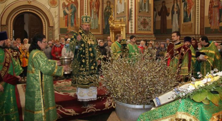 Православные христиане в Коми празднуют Вербное воскресенье