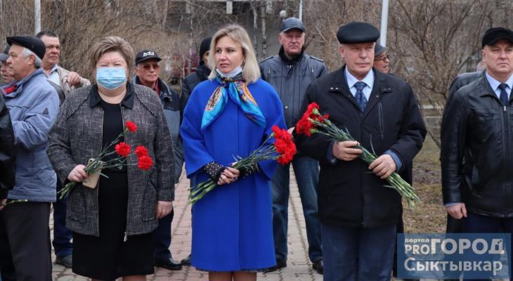 Мэр Сыктывкара почтила память ликвидаторов аварии на чернобыльской АЭС