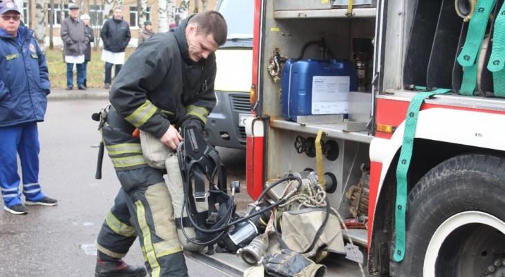 За сутки в Коми произошло четыре пожара