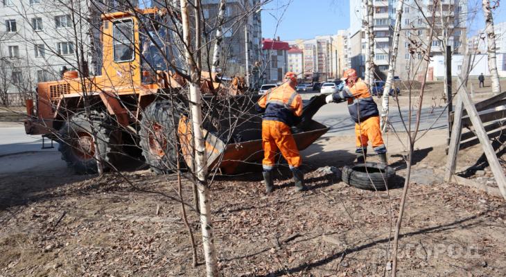 Некоторые министерства проигнорировали сыктывкарский субботник