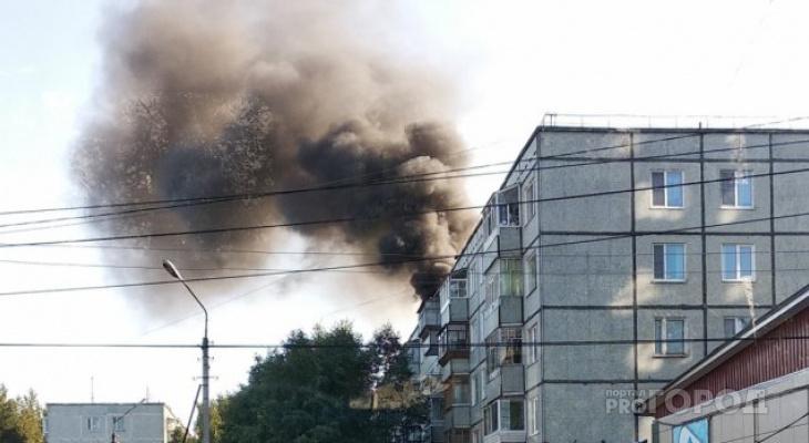 Сыктывкарка получила ожоги во время пожара в своей квартире