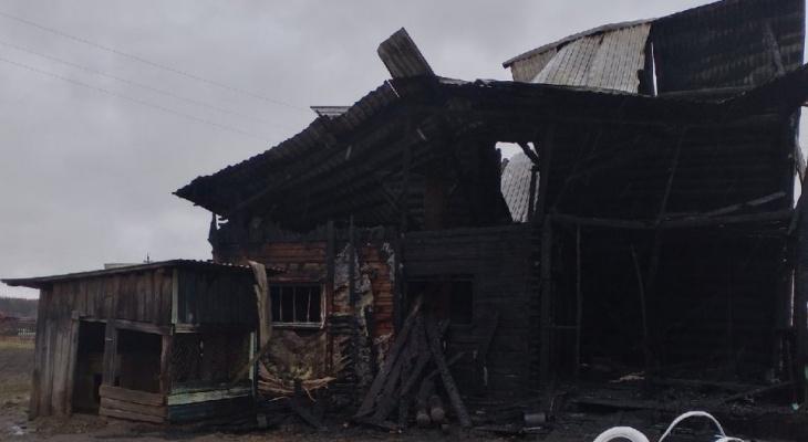 На 1 Мая в Коми произошло 3 пожара