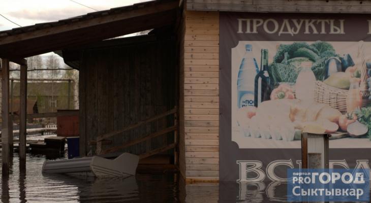 В Коми сформировали запасы продовольствия на период ледохода и паводка