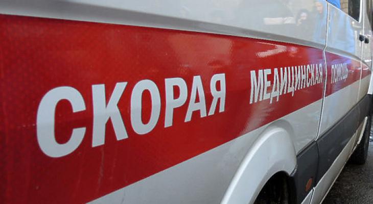 В Коми на мать двоих детей сбросили железную дверь