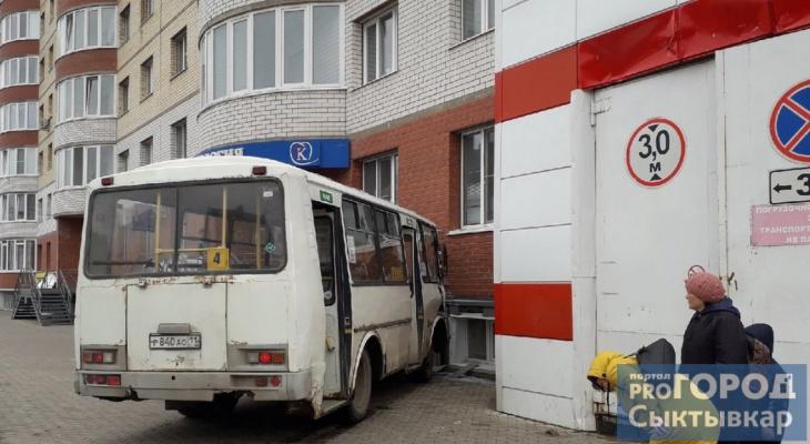 В Сыктывкаре автобус протаранил жилой дом