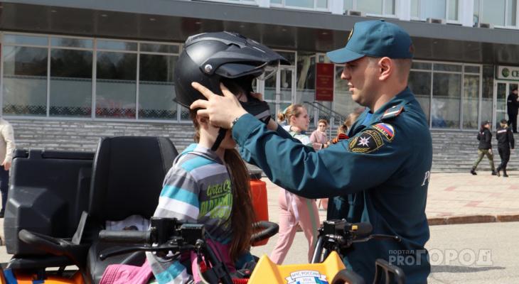Фоторепортаж: что происходило на главной площади Сыктывкара в День Победы