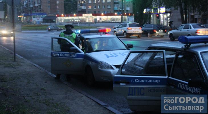 На дорогах Сыктывкара пострадали два ребенка