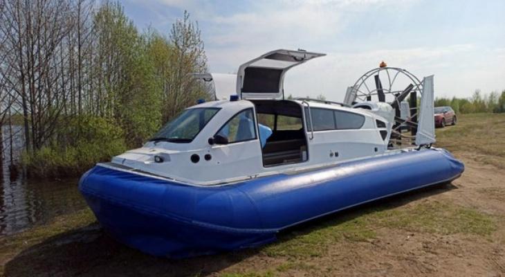 В Коми больных будут переправлять на судне с воздушной подушкой
