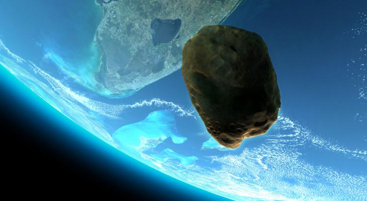 К Земле приближаются два опасных астероида