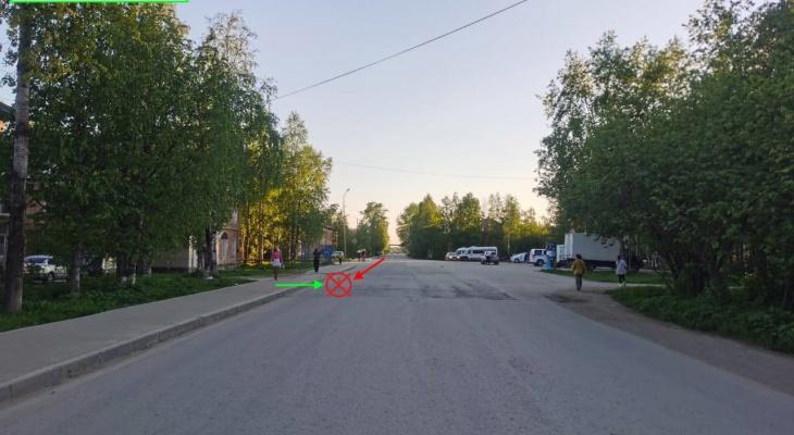 В ухтинском поселке сбили шестилетнего мальчика, который перебегал дорогу