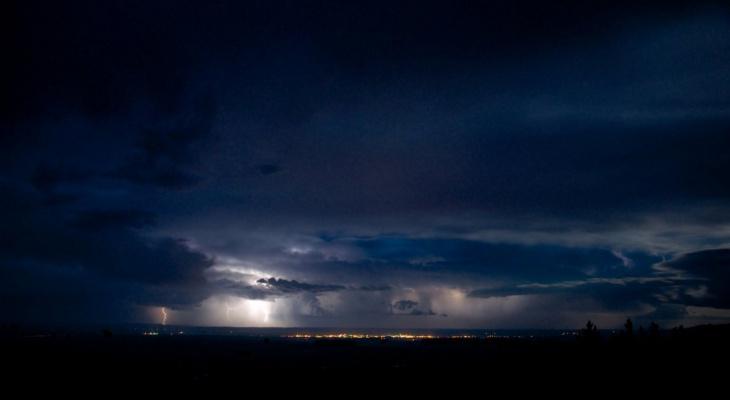 Погода в Сыктывкаре на 7 июня: ночная гроза и дневная прохлада