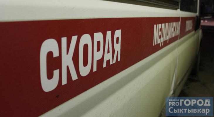 В Сыктывкаре мужчина пострадал на пожаре и скончался в машине скорой