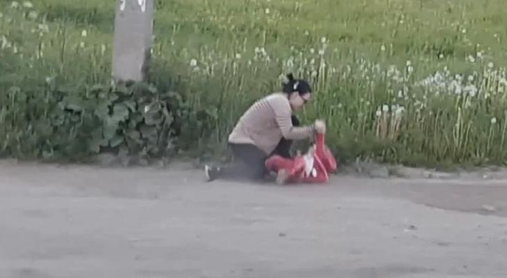 В Сети распространяется видео, как сыктывкарка бьет свою малолетнюю дочь