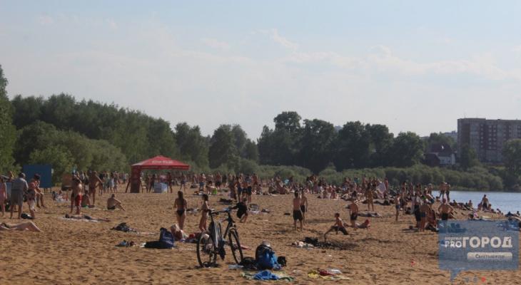 В Сыктывкаре официально открыли пляж