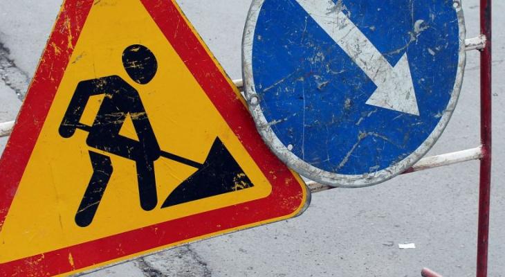 В Сыктывкаре на месяц перекрыли часть Сысольского шоссе