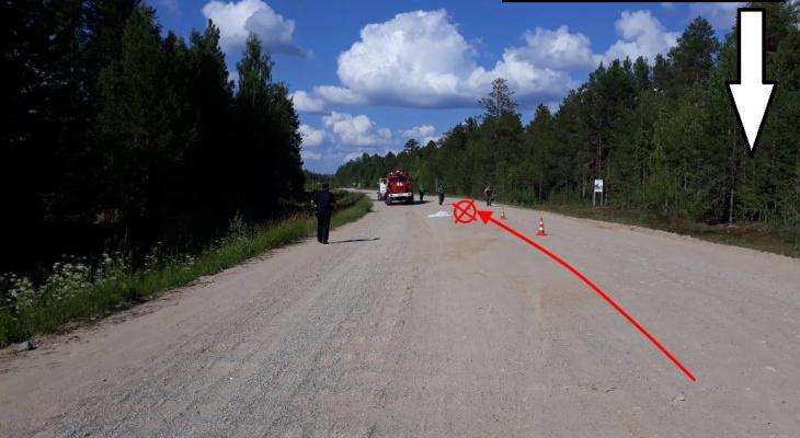 В Коми водитель мопеда скрылся после смертельного ДТП