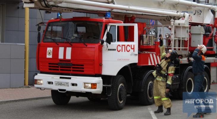 В Ухте горел нефтеперерабатывающий завод