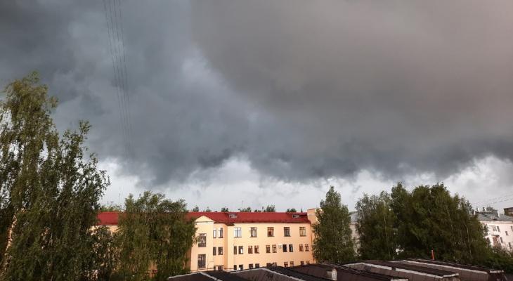 В Коми объявили предупреждение из-за сильного дождя