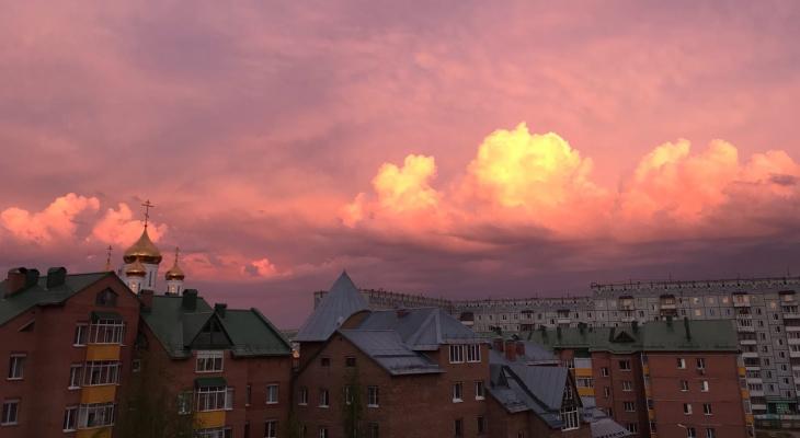 Погода в Сыктывкаре на 24 июля: в город пришли дожди